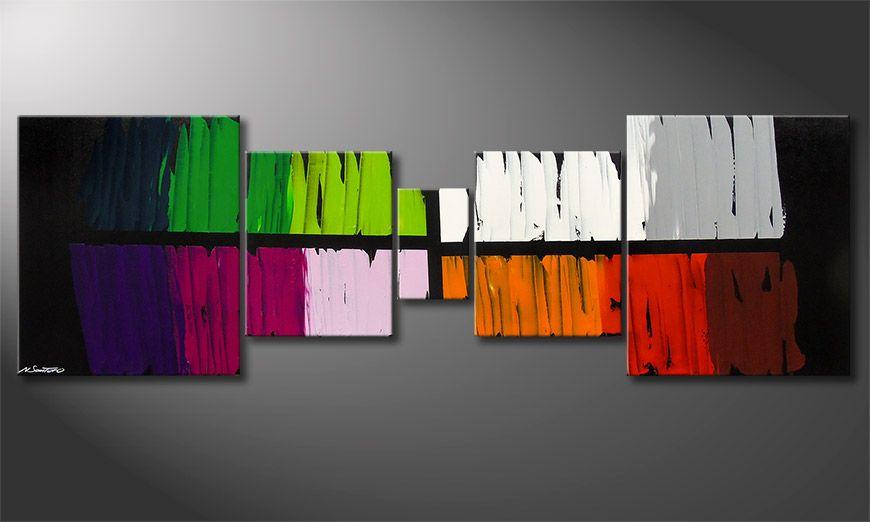 Colorful Lights 220x70x2cm