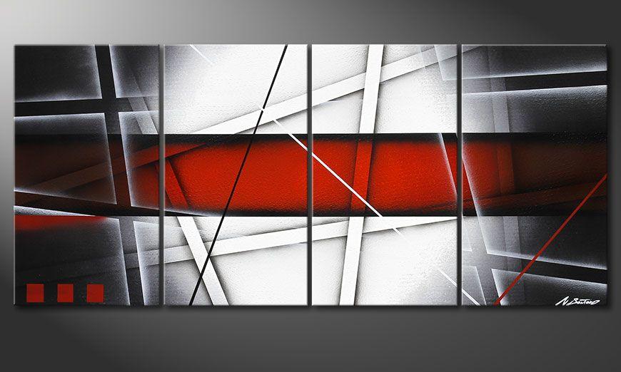 De schilderij Focus on Essentials 160x70x2cm