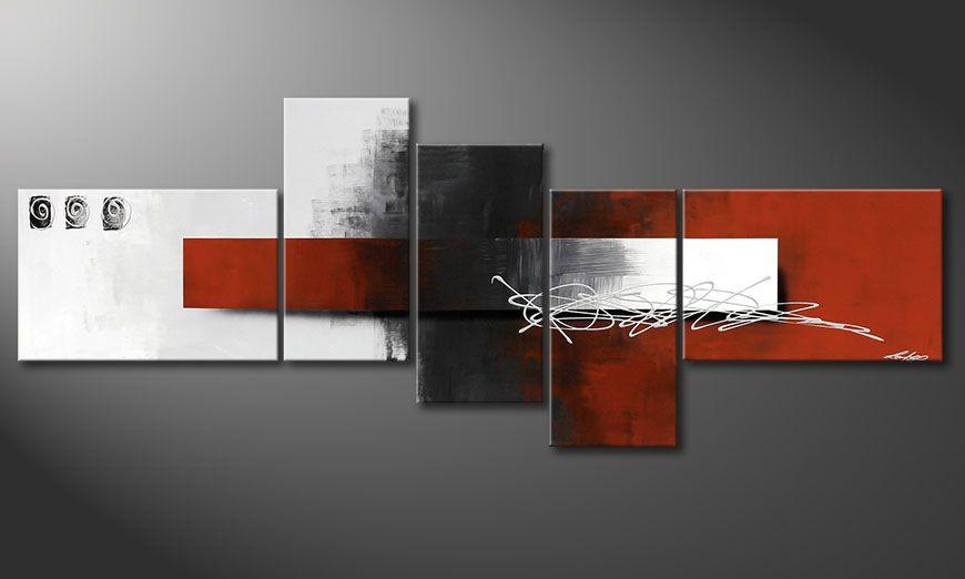 De schilderij Follow your Dream 210x80x2cm