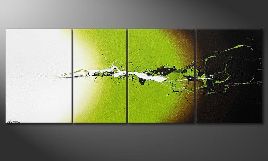 De schilderij Juicy Splash 190x70x2cm