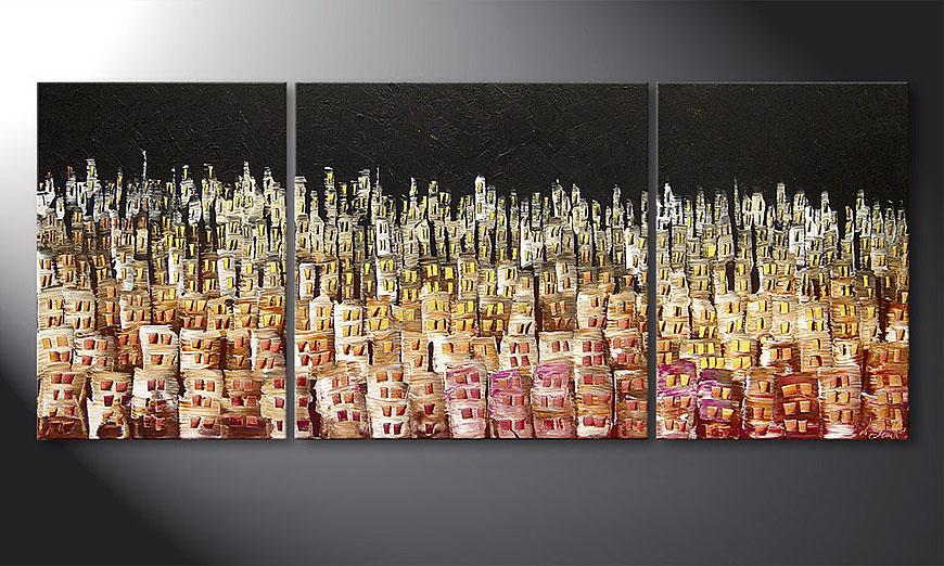 De schilderij Summer Heat 170x70x2cm