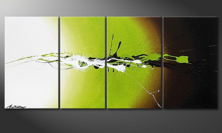 Decoratieve schilderij Juicy Splash 115x50x2cm