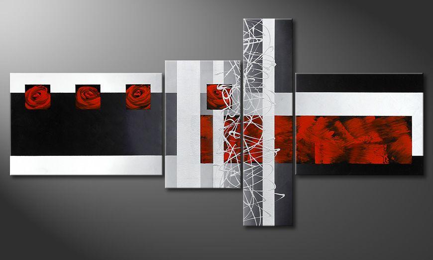 Fameless Emotions 160x80x2cm Schilderij
