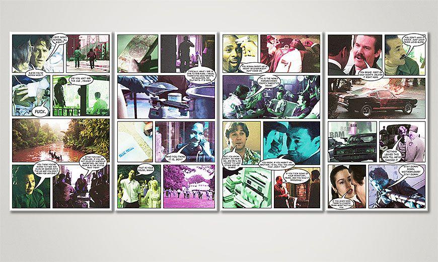 Fine-Art print American Gangster 160x70x2cm