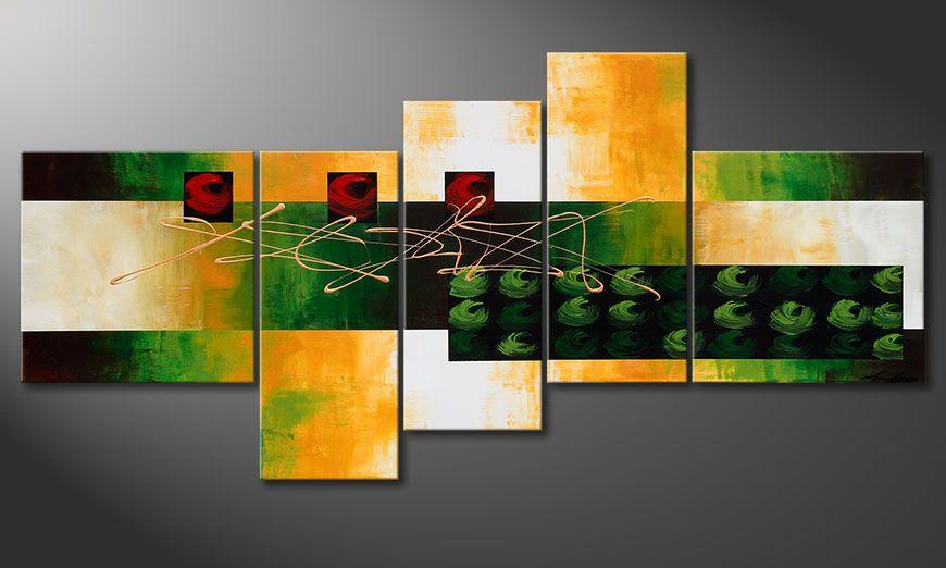 Het beeld Quiet Love 190x90x2cm Bild