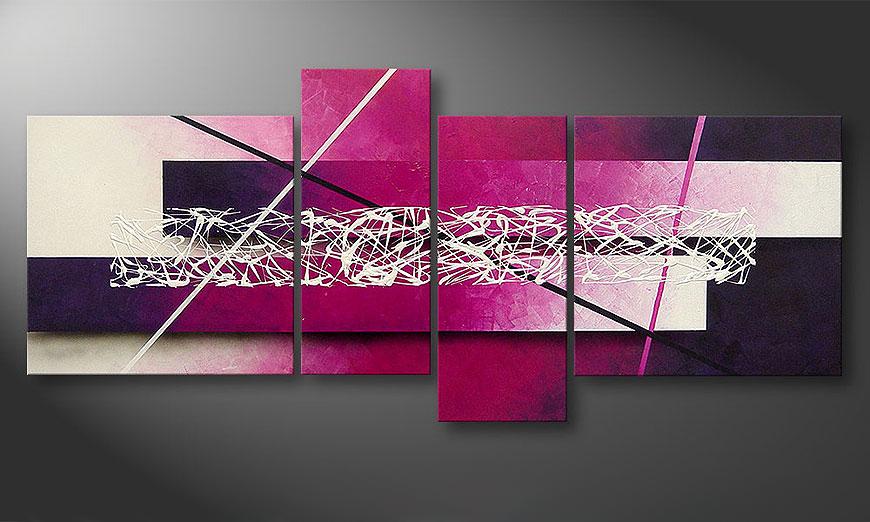 Het canvas Connection 180x80x2cm