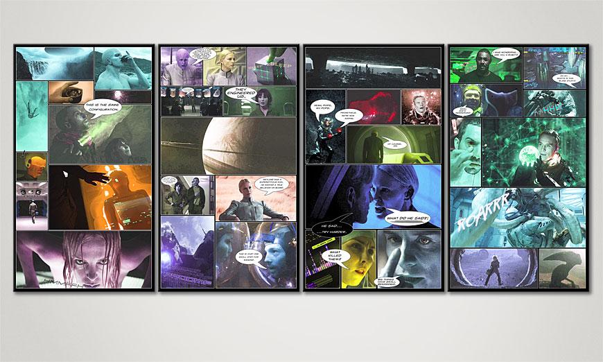 Het exclusief canvas Prometheus 160x70x2cm