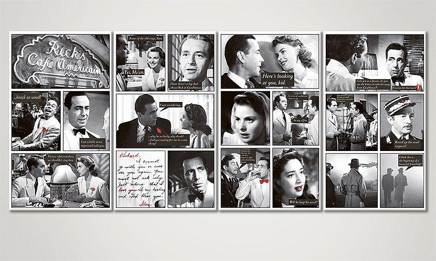 Het moderne Canvas Casablanca 160x70x2cm