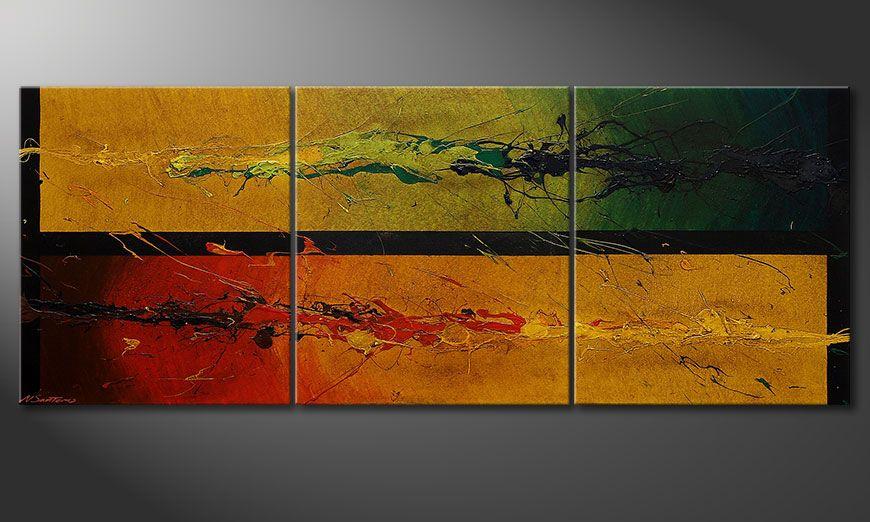 Het moderne beeld Blowing Elements 180x70x2cm