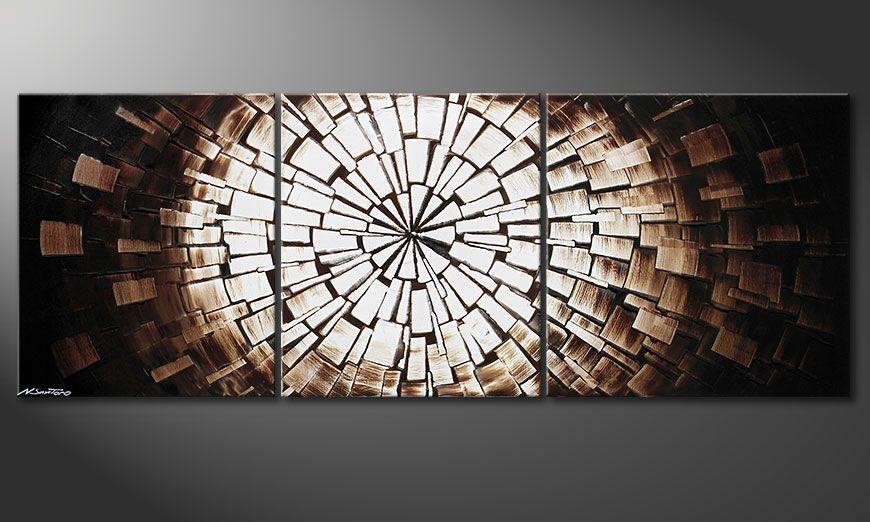 Het moderne beeld Center of Babylon 190x70x2cm