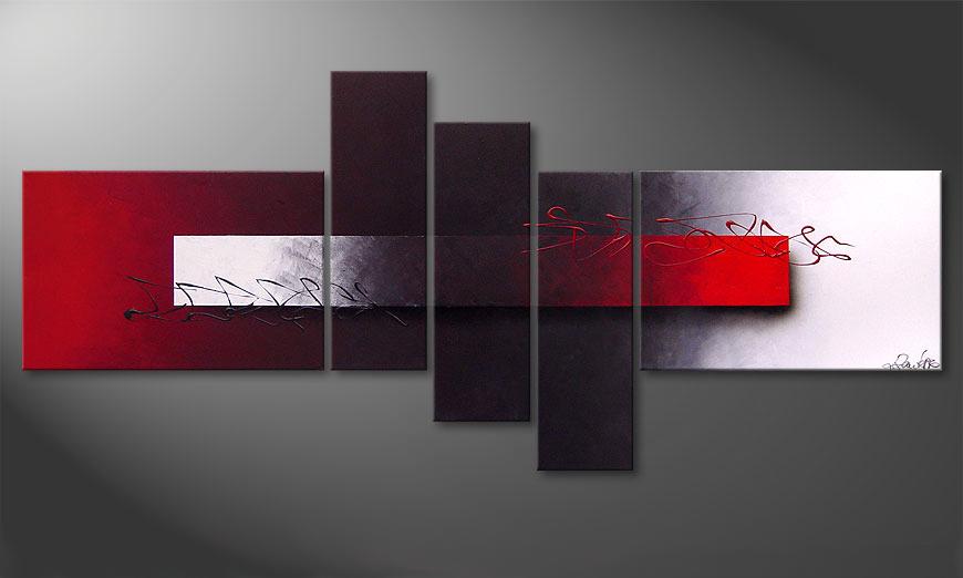 Het moderne beeld Opposites Attract 180x80x2cm