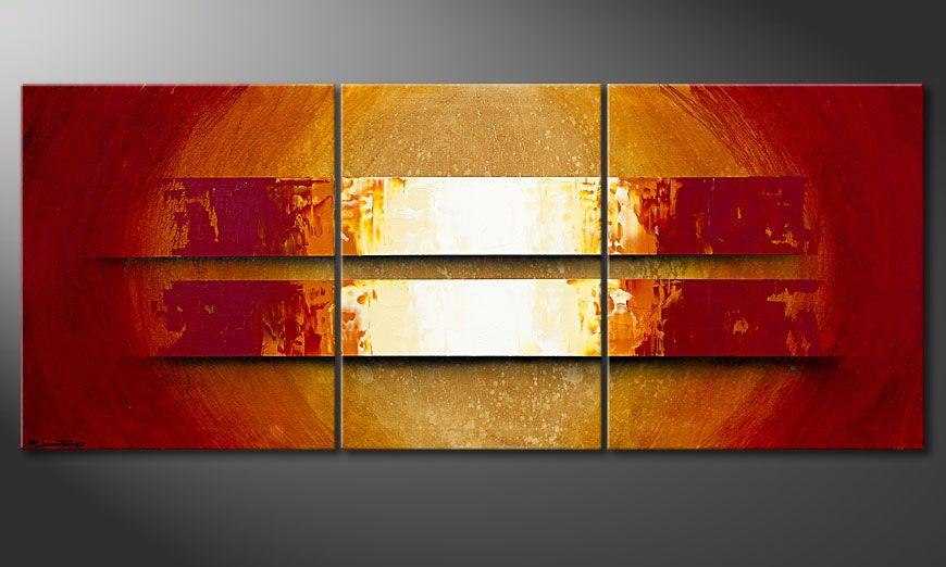 Het moderne beeld Sun Storm 170x70x2cm
