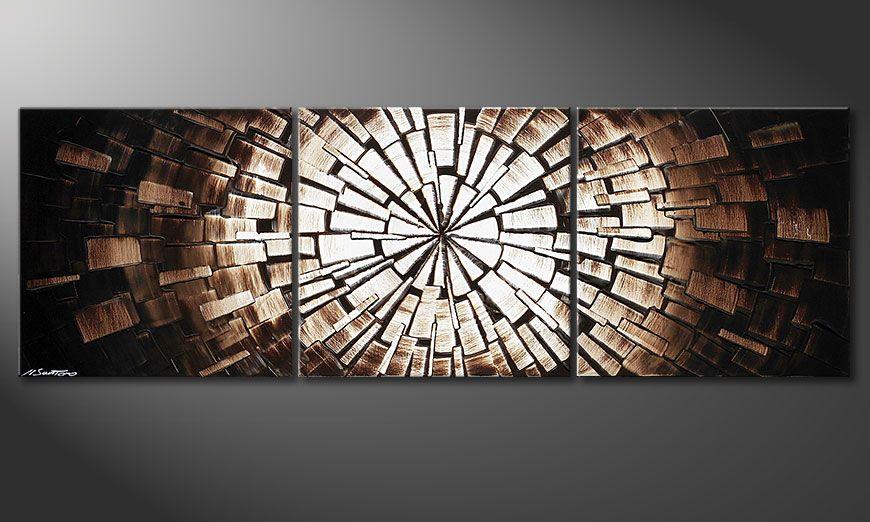 Het prachtige beeld Center of Babylon 150x50x2cm