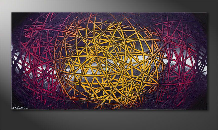 Onze moderne beeld Indian Moonlight 140x70x2cm
