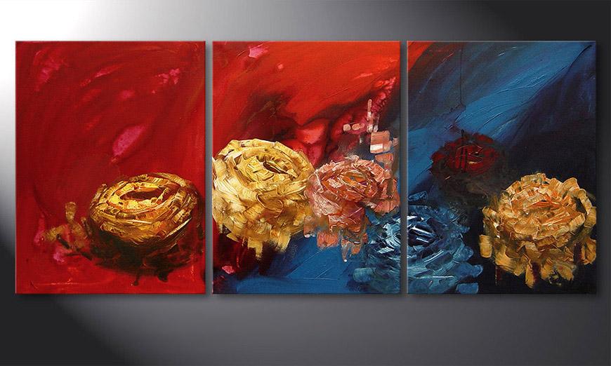 Spirit of Roses 180x80x2cm Schilderij