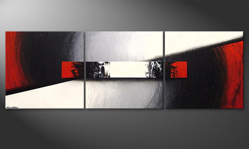 Woonkamer schilderij Awakening of Spirit 210x70x2cm