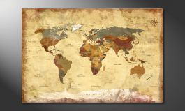 Fine-Art print<br>''Old Worldmap 4'