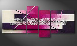 Het canvas<br>'Connection' 180x80cm