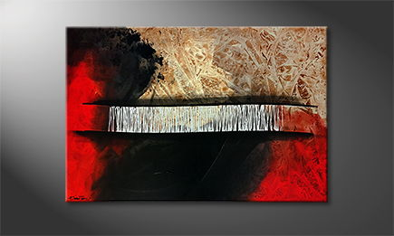De schilderij 'South Of Heat' 120x80cm