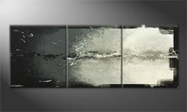 Het canvas 'Broken Night' 180x70cm