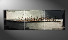 Het canvas 'Copper Way' 210x70cm