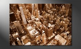 Het foto canvas 'New York City'