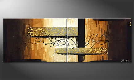 Moderne wall art 'Break' 200x70cm