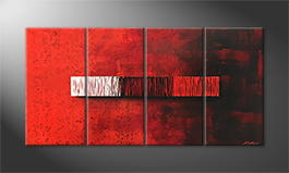 Moderne wall art 'End Of Opposites' 160x80cm