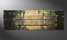Moderne wall art 'Jungle Force' 210x70cm