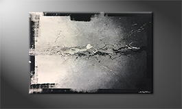 Moderne wall art 'Liquid Shadow' 120x80cm