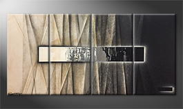 Moderne wall art 'On Stage' 160x80cm