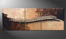 Handgeschilderde schilderijen im Sinus-Stijl bij Schilderij-XXL