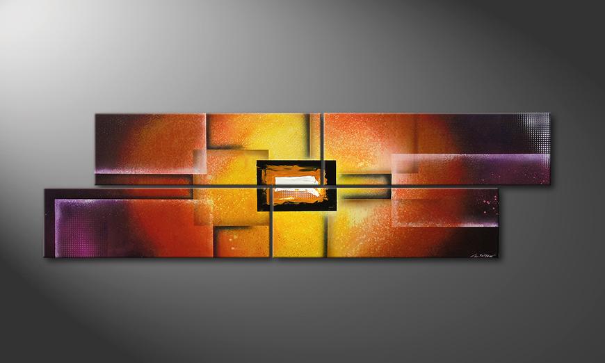 Colors of Heat 200x60x2cm 200x60x2cm