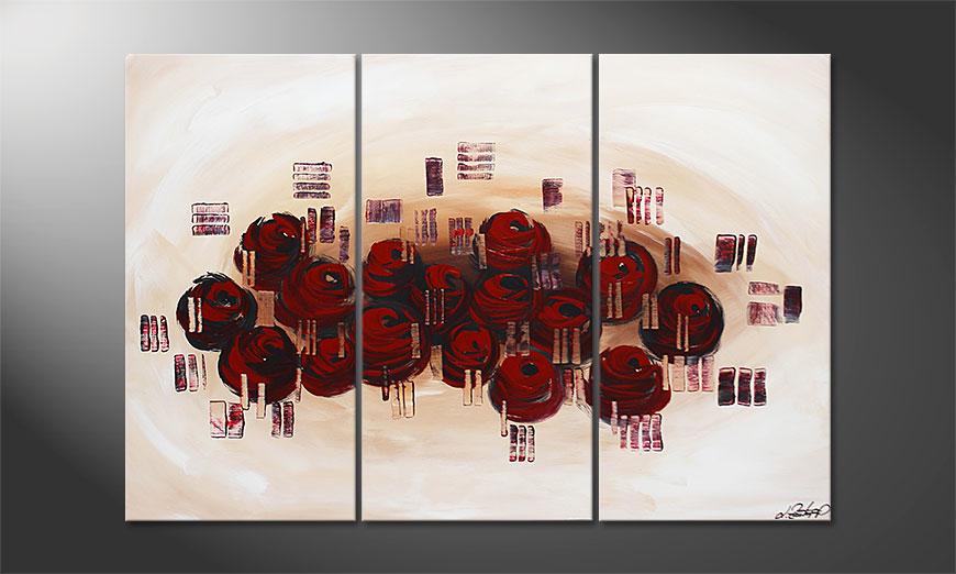 Dream of Roses 120x80x2cm Schilderij