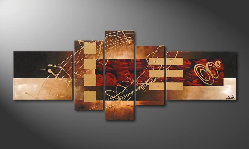 Het beeld Rosy Phantasies 220x90x2cm