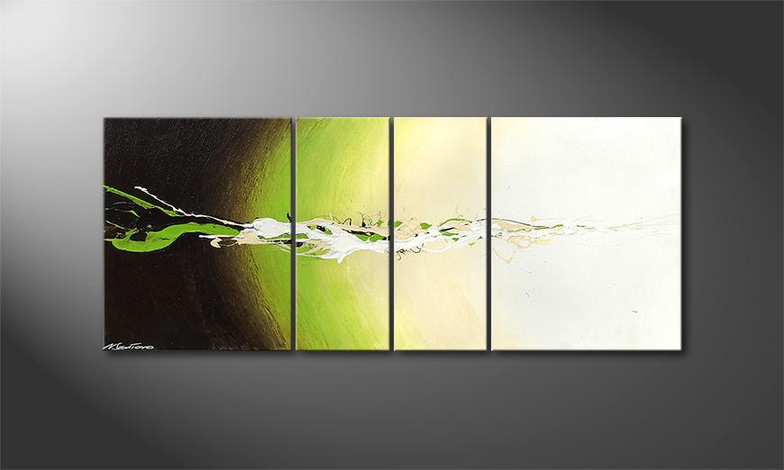 Het moderne beeld Fruity Splash 120x50x2cm