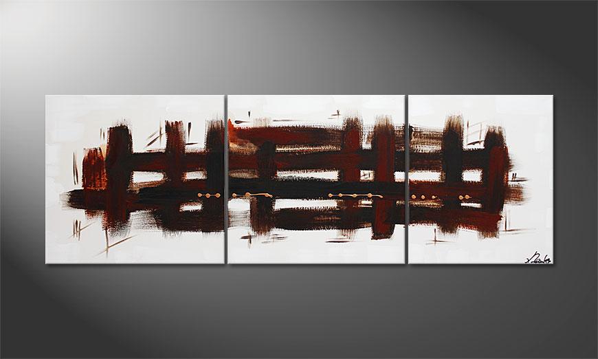 Ways 170x60x2cm Schilderij