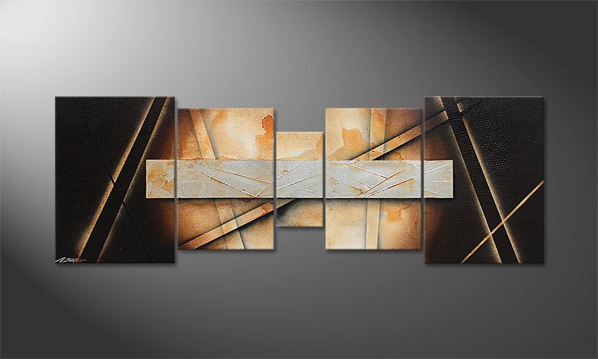 Woonkamer schilderij Desert Treasure 200x70x2cm