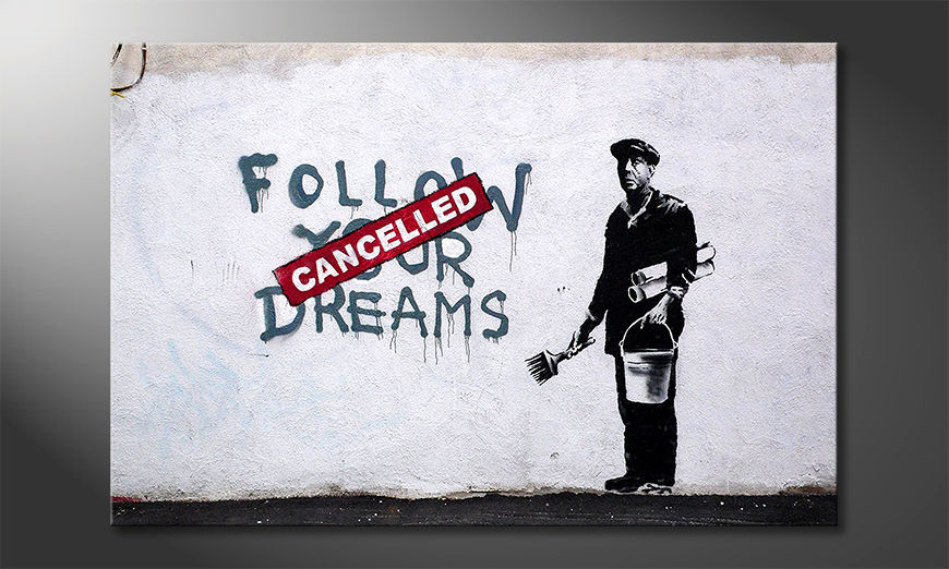 Canvaskunst Follow Dreams