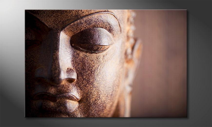 De Buddha beeld Silence