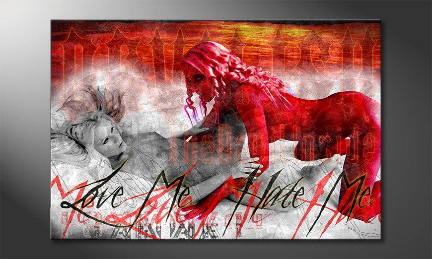De erotische print Devilish