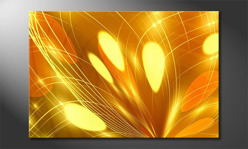 Fine-Art print Abstract Lights 60x40 cm