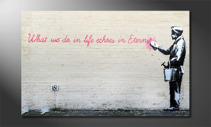 Fine-Art print Banksy No.17 80x50 cm