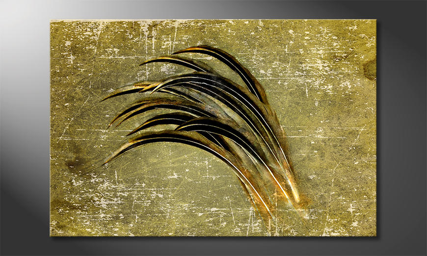 Fine-Art print Bent By The Wind