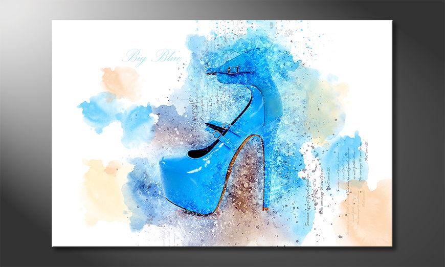 Fine-Art print Big Blue