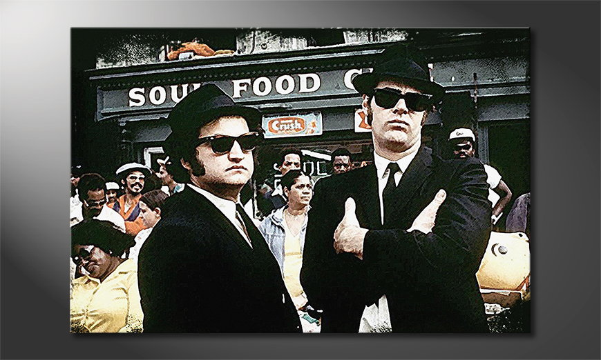 Fine-Art print Blues Brothers Moment