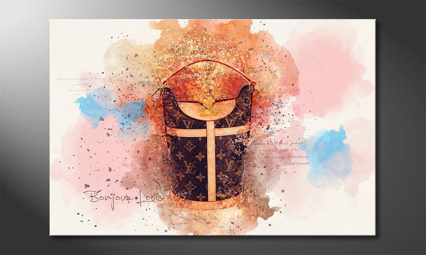 Fine-Art print Bonjour Louis