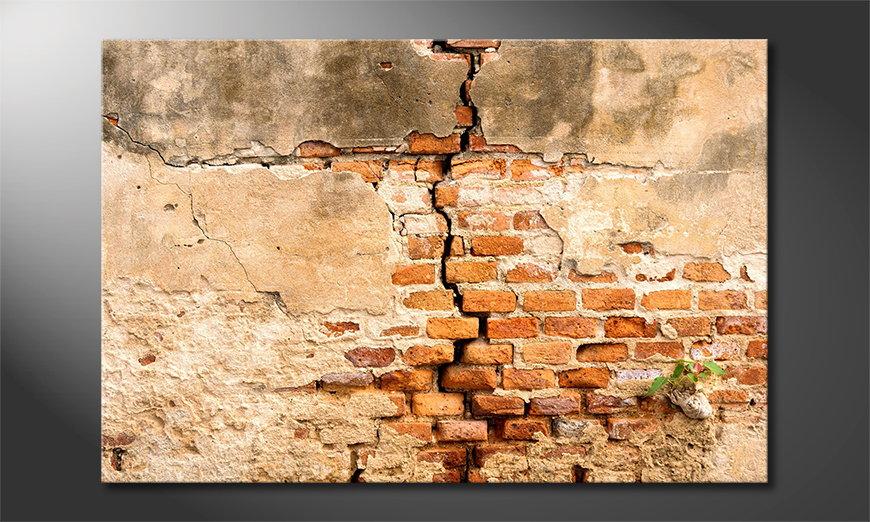 Fine-Art print Broken Wall