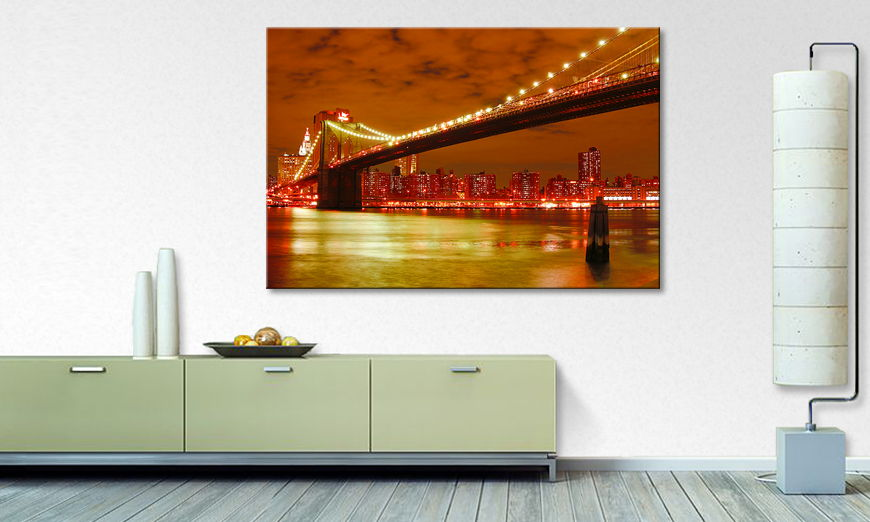 Fine Art print Brooklyn Bridge