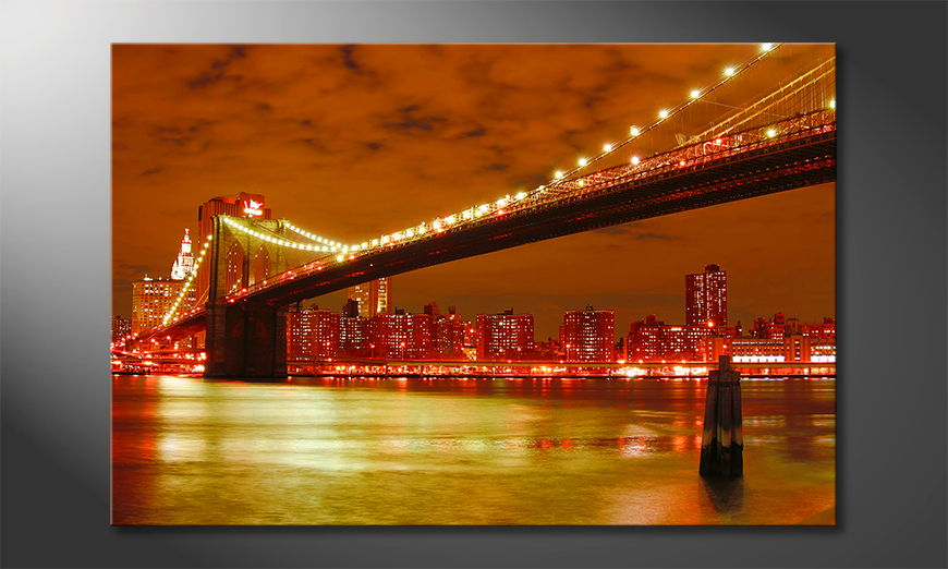 Fine-Art print Brooklyn Bridge